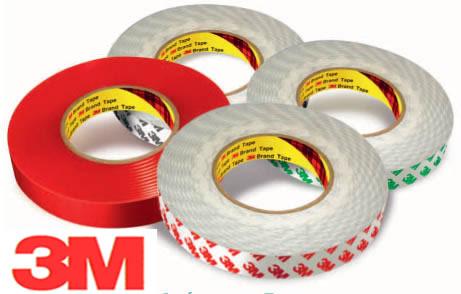 High Performance D/C PVC Tape - 3M 9087 - 50mm X 50m Roll - (Paper Liner)