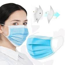 Single use surgical PPE mask